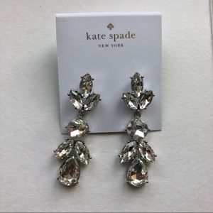 Kate Spade Crystal Drop Earrings
